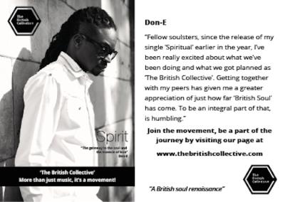 British Collective, Message Don-e