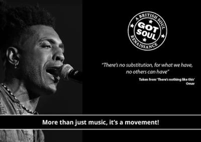 British Collective, UK Soul Legends, Omar