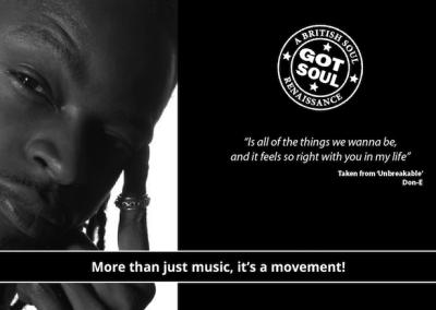 British Collective, UK Soul Legends, Don-e