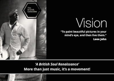 British Collective, Leee John, more Vision